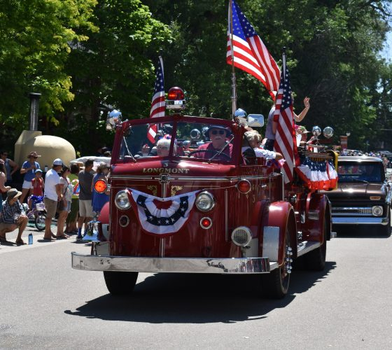 Niwot 4th July Parade Fire Truck